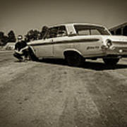 Ford Galaxie 500 5 Poster