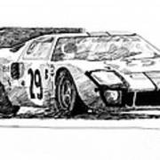 Ford Gt - 40 Poster