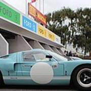 Ford Gt 40 Pit Lane Poster