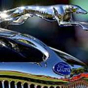 Ford Hood Ornement Poster