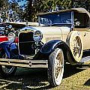Ford Model A Poster