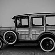 Ford Model A Station Wagon 1930 Poster