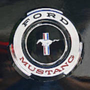Ford Mustang Emblem Poster