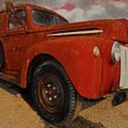 Ford Panel Truck  Poster