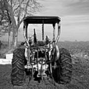 Ford Tractor Rear View Poster