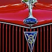 Ford's V8 Poster