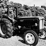 Fordson Major Classic Tractor During Vintage Tractor Rally At Glenarm Castle Open Day County Antrim Northern Ireland Poster