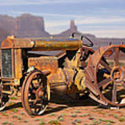 Fordson Tractor Poster