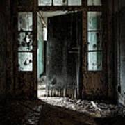 Foreboding Doorway Poster