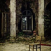 Forgotten Courtyard Poster
