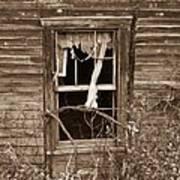 Forlorn Window Poster