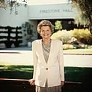 Former First Lady Betty Ford Posing Poster