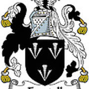 Forstall Coat Of Arms Irish Poster