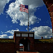 Fort Mchenry Main Gate Poster