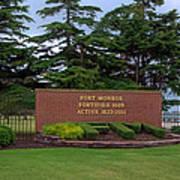 Fort Monroe Main Gate Poster