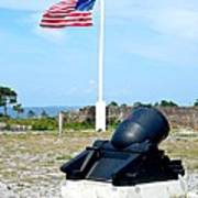 Fort Pickens Flag Poster