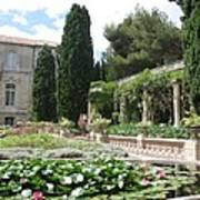 Fortress Garden  Villeneuve Les Avignon Poster
