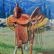 Forty Dollar Saddle Poster