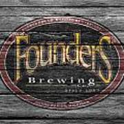 Founders Brewing Poster