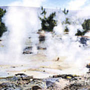 Fountain Paint Pot Yellowstone Np Poster