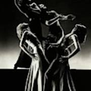 Four Dancers Of The Albertina Rasch Ballet Group Poster