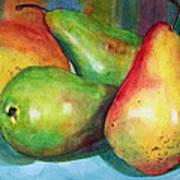 Four Pears Art Blenda Studio Poster