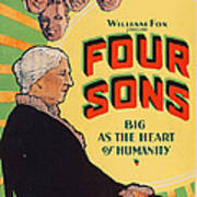 Four Sons, Us Poster Art, 1928. Tm & Poster