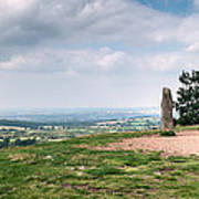 Four Standing Stones On The Clent Hills Poster