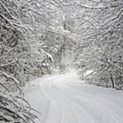 Four Wheel Winter Poster