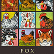 Fox In The Henhouse Poster