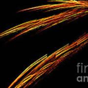 Fractal 25 Fiya Poster