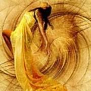 Fractal Dance Of Joy Poster by Gun Legler