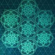 Fractal Interference Poster by Jason Padgett