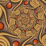 Fractal Jewelry Poster