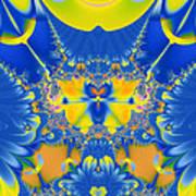 Fractal Owl Poster