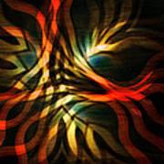 Fractal Swirl Poster