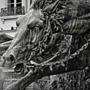 Fragment Of Bartholdi Fountain Poster