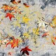Fragments Of Fall Poster