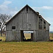 Framed Barn Poster by Steven  Michael