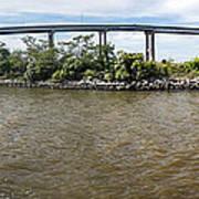 Francis Scott Key Bridge - Pano Poster