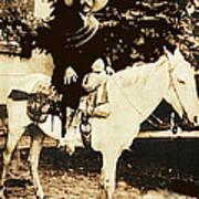 Francisco Villa On Horse Perhaps Siete Leguas Unknown Mexico Location Or Date 2013. Poster