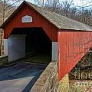 Frankenfield Covered Bridge Poster