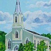 Fredericksburg Baptist Church Poster