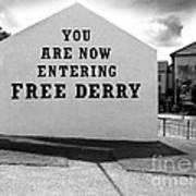 Free Derry Corner 9 Poster