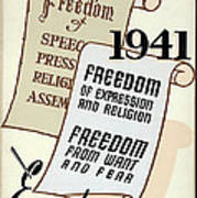 Freedom Everywhere In The World Poster