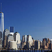 Freedom Tower And Lower Manhattan Poster