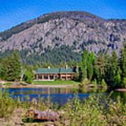 Freestone Inn Lakeside View Poster