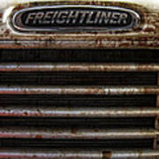 Freightliner Highway King Poster