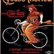French Bicycles Poster