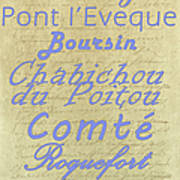French Cheeses-1 Poster